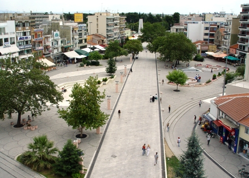 Center of Komotini